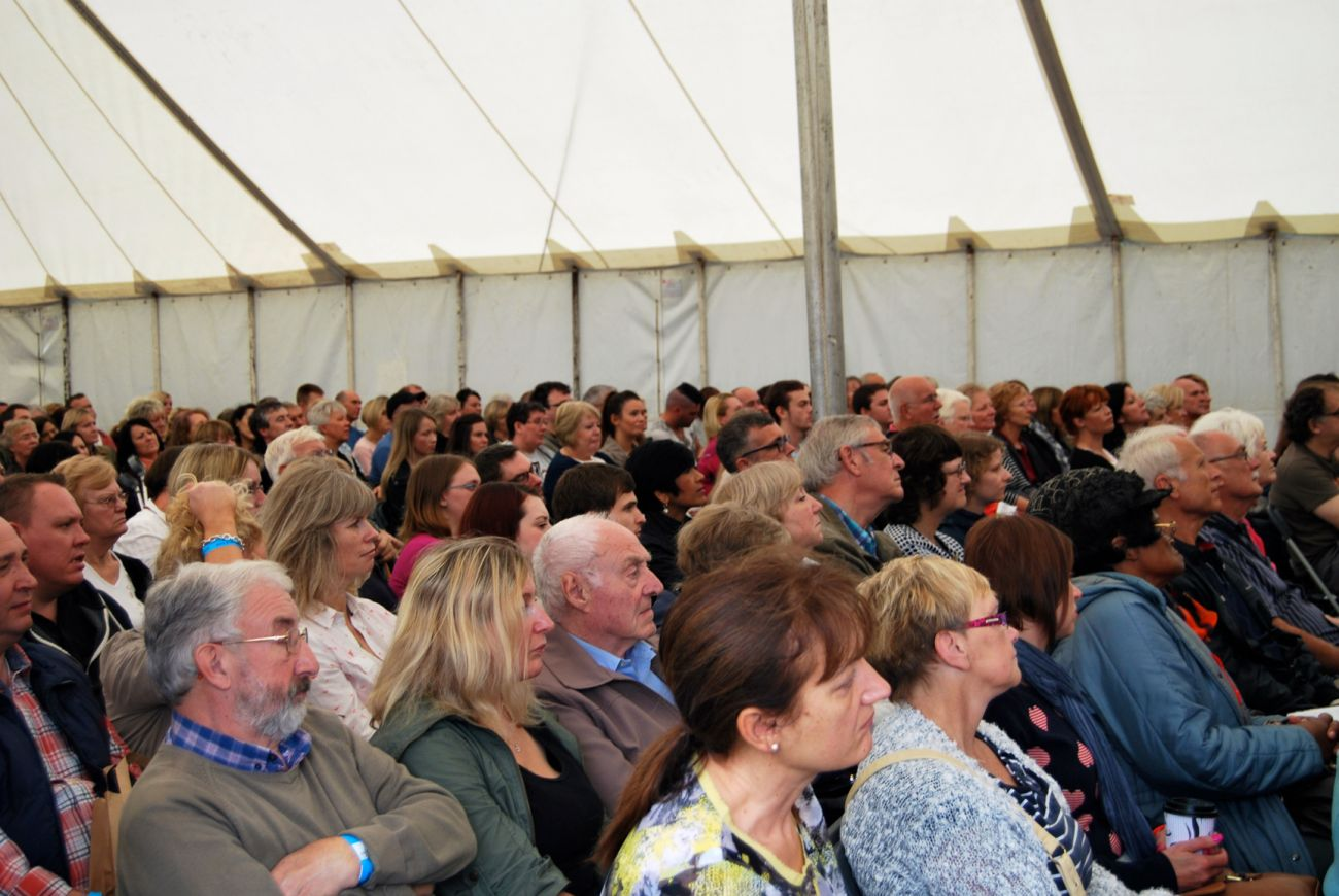 Cookery Demonstrations at Festival of Food and Drink