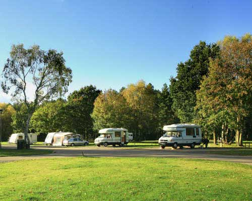 Visiting - The Festival of Food & Drink 2018, National Trust's Clumber Park, Nottingham. - Caravan park Clumber