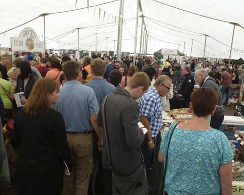 Visiting - The Festival of Food & Drink 2018, National Trust's Clumber Park, Nottingham.