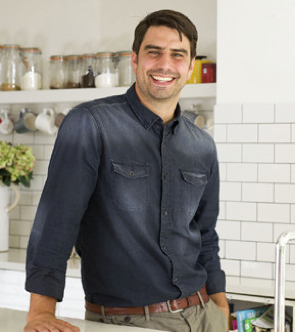 Chris Bavin Celebrity Chef