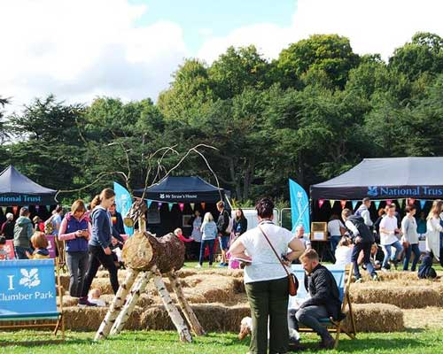 Visiting - The Festival of Food & Drink 2018, National Trust's Clumber Park, Nottingham. - opening times