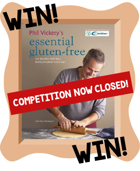 The Festival of Food & Drink 2018 - Win Phil Vickery Essential Gluten-Free Book