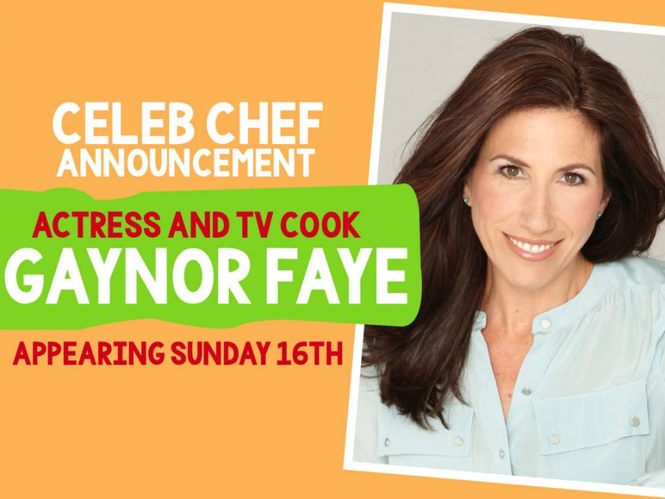 Festival of Food & Drink 2018 - Celebrity TV Cook & Emmerdale Actress Gaynor Faye