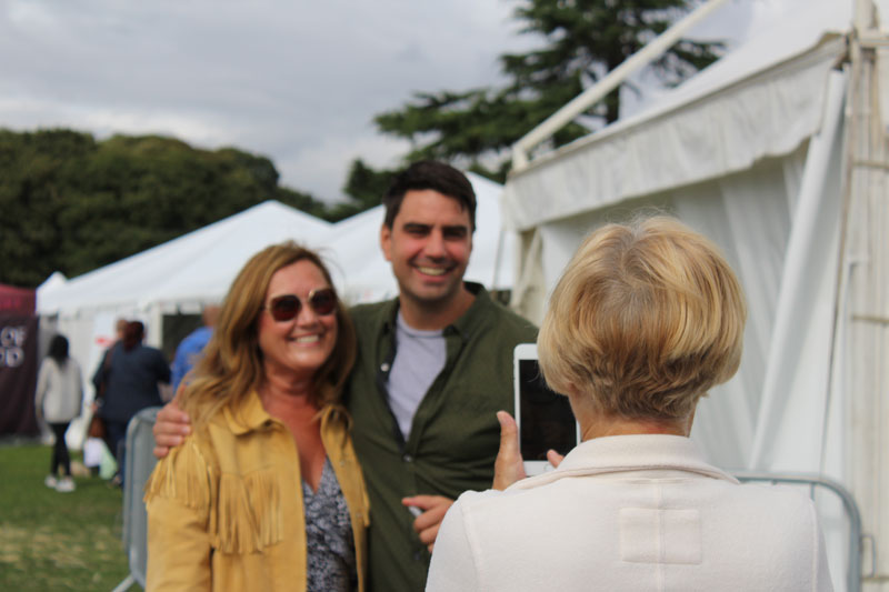 Celebrity TV Chef Book Signing - The Festival of Food and