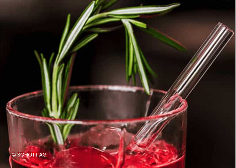 Vaso Glass Straws available at Festival of Food and Drink